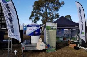 EcoDose Fertigation at FarmFest 2019 Stand H/13C