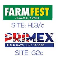 EcoDose at Farmfest & Primex Field Day 2018